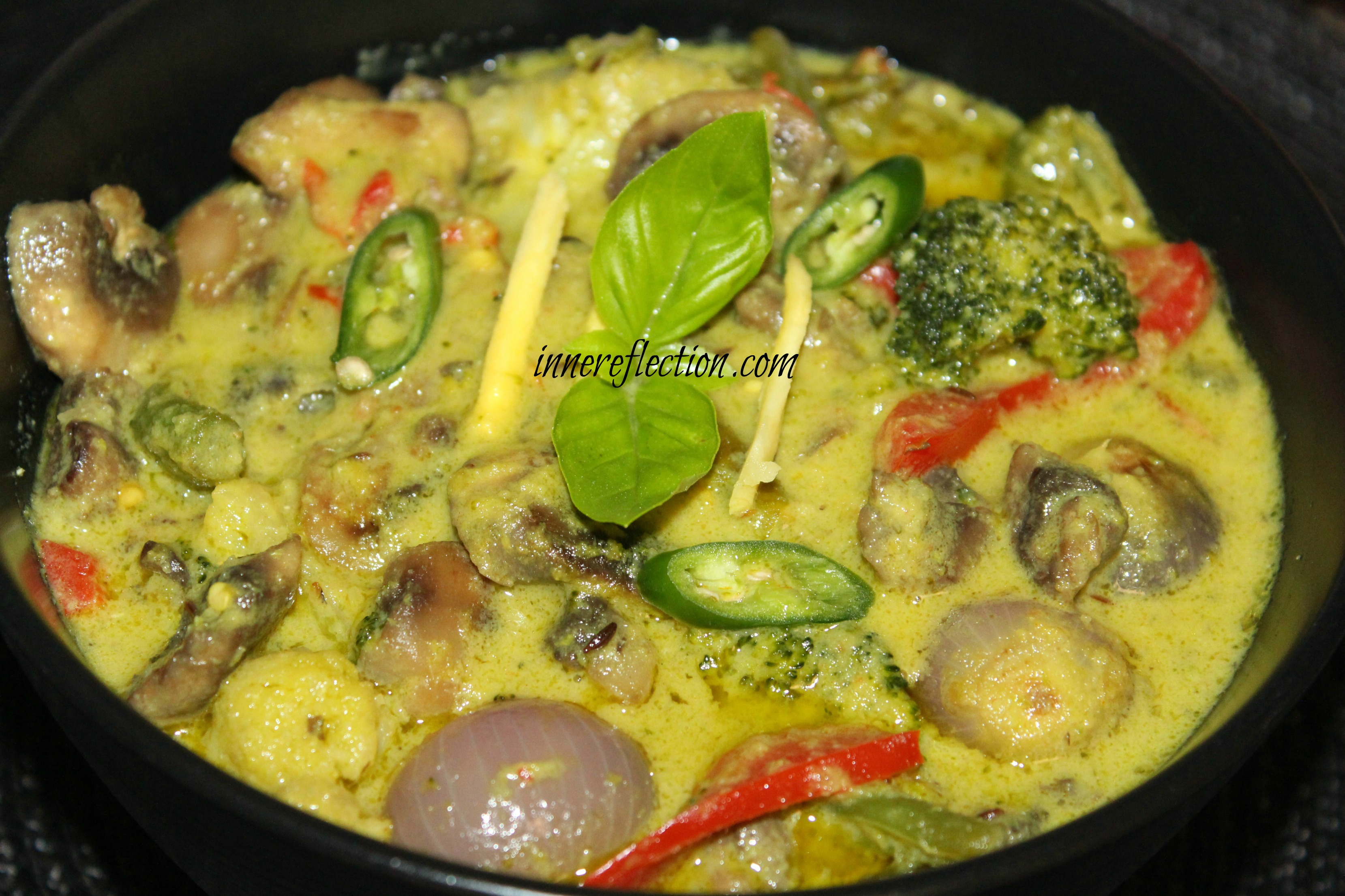 Thai Green Curry - innereflection